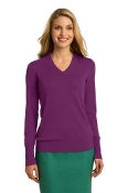 LSW285 PA Ladies V-Neck Sweater