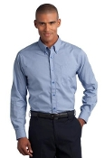 RH66 RH Mini-Check Non-Iron Button-Down Shirt