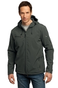 J706 PA Textured Hooded Soft Shell Jacket