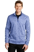 ST226 Sport-Tek® PosiCharge® Electric Heather Fleece 1/4-Zip Pul