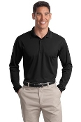 ST657 Long Sleeve Micropique Polo