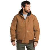CTTSJ140  Carhartt ® Tall Quilted-Flannel-Lined Duck Active Jac