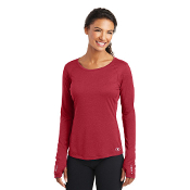 LOE321 OGIO® ENDURANCE Ladies Long Sleeve Pulse Crew