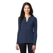 LM1008 Port Authority® Ladies Concept Stretch Button-Front Cardi