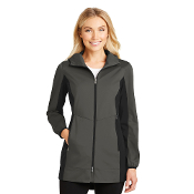 L719  Port Authority® Ladies Active Hooded Soft Shell Jacket