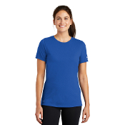 NKBQ5234 Nike Ladies Dri-FIT Cotton/Poly Scoop Neck Tee