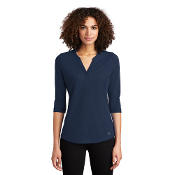 LOG104 OGIO ® Ladies Jewel Henley
