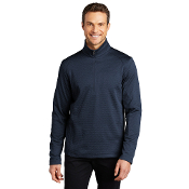 F248 Port Authority ® Diamond Heather Fleece 1/4-Zip Pullove