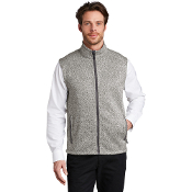F236 Port Authority ® Sweater Fleece Vest