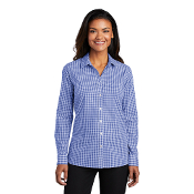 LW644 Port Authority ® Ladies Broadcloth Gingham Easy Care