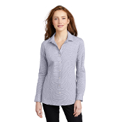 LW645 Port Authority ® Ladies Pincheck Easy Care Shirt