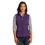 L228  Port Authority® Ladies R-Tek® Pro Fleece Full-Zip Vest