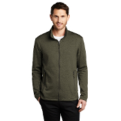F905 Port Authority® Collective Striated Fleece Jacket