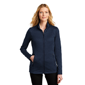 L905 Port Authority® Ladies Collective Striated Fleece Jacket